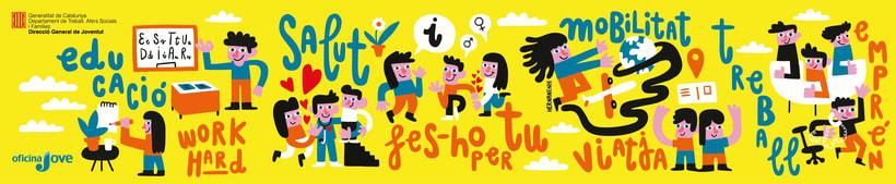 Estand Oficina Jove  - Generalitat de Catalunya 0