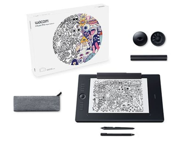 Vendo Wacom Intuos Pro Paper M South Tableta Gráfica -350 euros 1