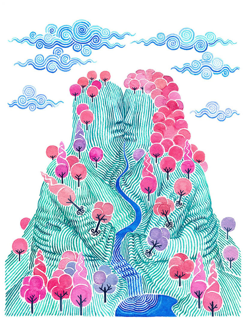 Carlos Arrojo: ilustrando con líneas 14
