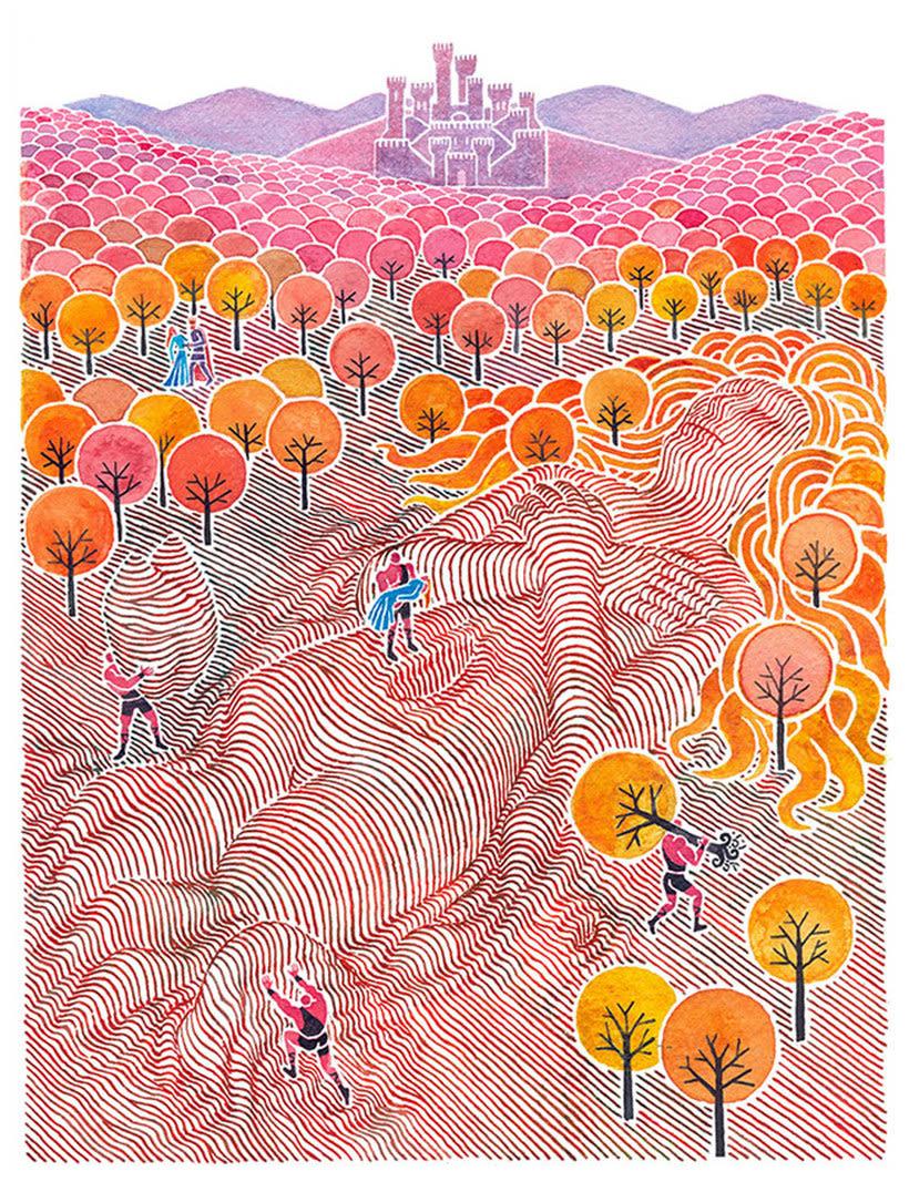 Carlos Arrojo: ilustrando con líneas 17