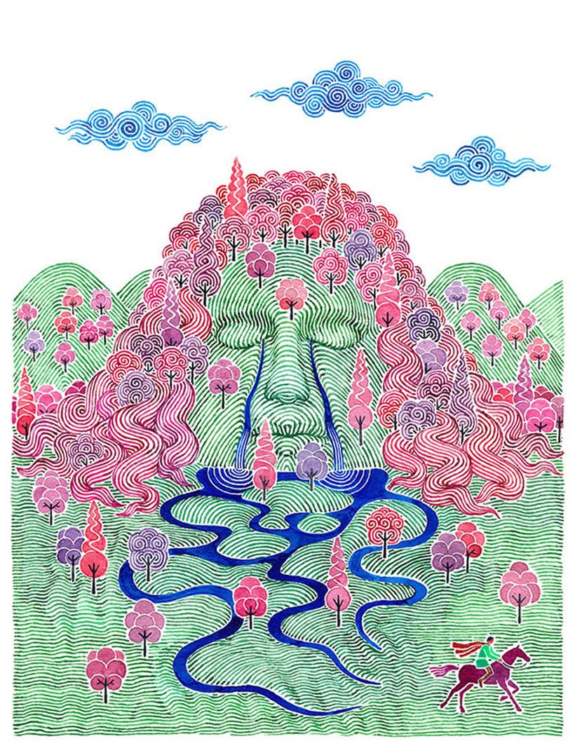 Carlos Arrojo: ilustrando con líneas 20