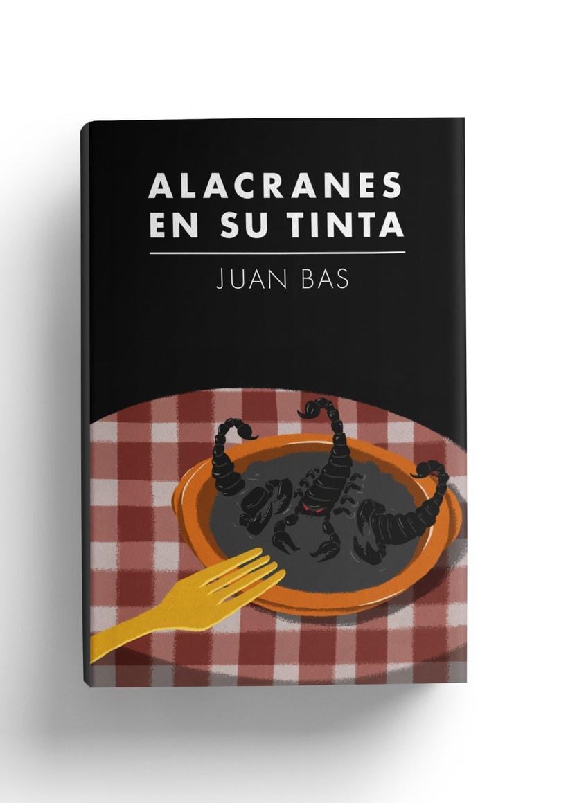 """Ilustración de portada """"Alacranes en su tinta""""  -1"""