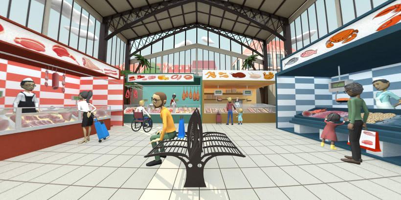 Escenarios 360 tipo cartoon 1