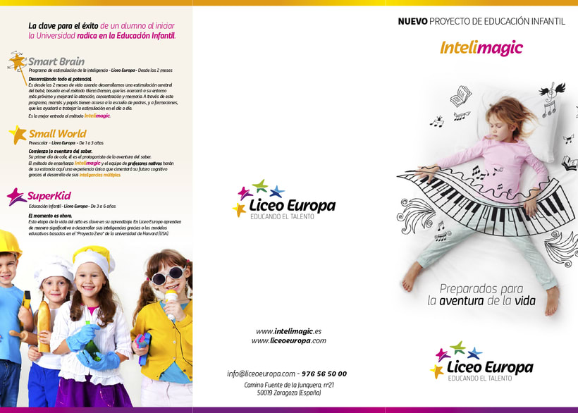 Liceo Europa. Intelimagic 2