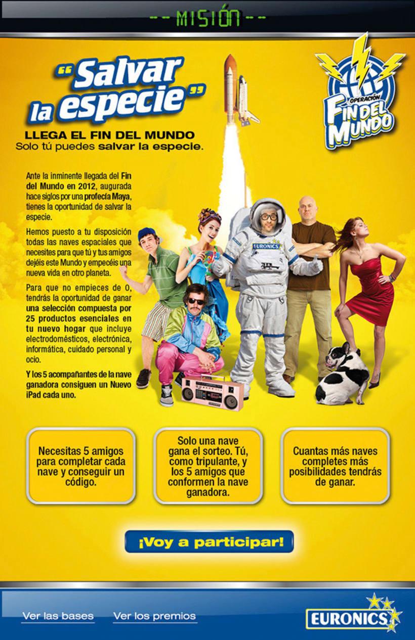 """Euronics. Operación """"Fin del mundo"""" 5"""