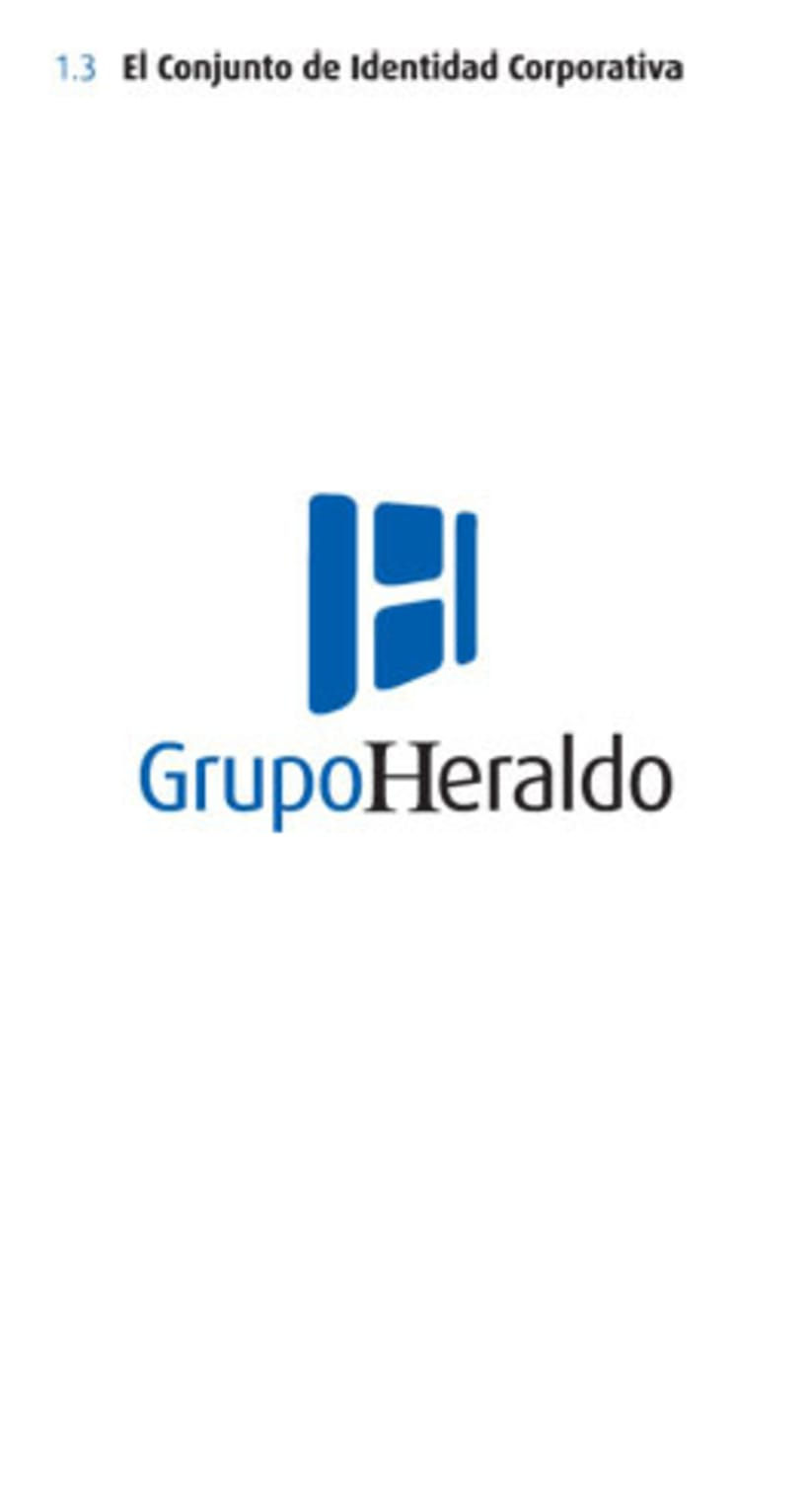 Grupo Heraldo de Aragón. Identidad corporativa 1