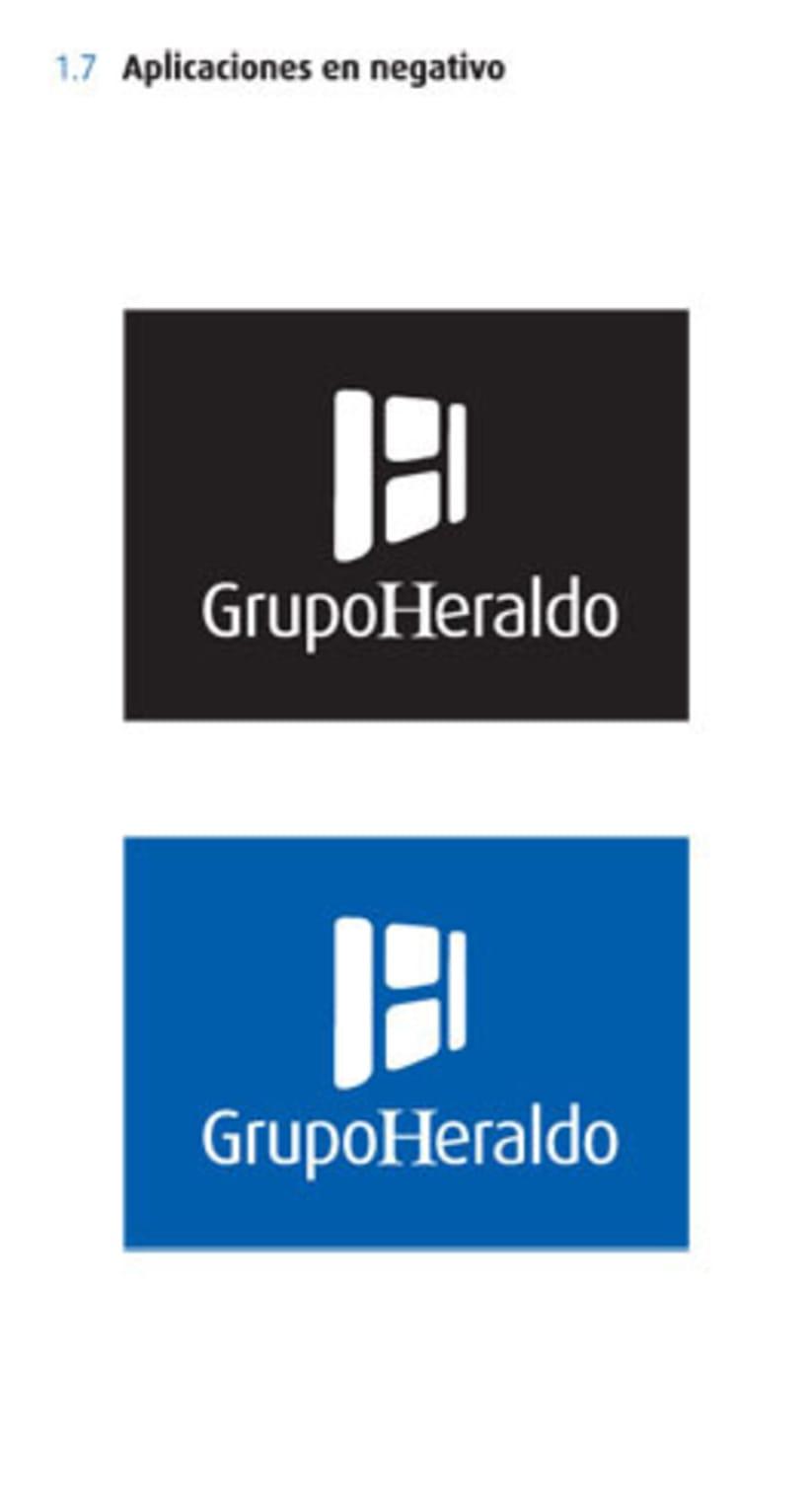 Grupo Heraldo de Aragón. Identidad corporativa 3