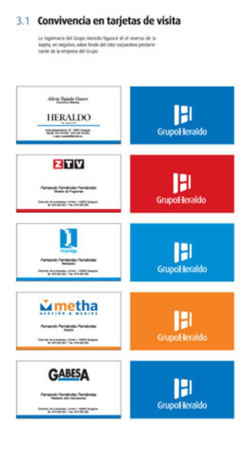 Grupo Heraldo de Aragón. Identidad corporativa 6