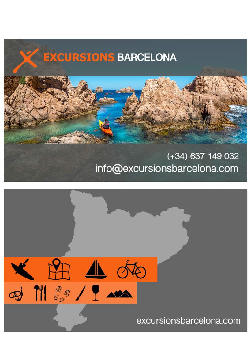 Excursions Barcelona DISEÑO GRÁFICO 1