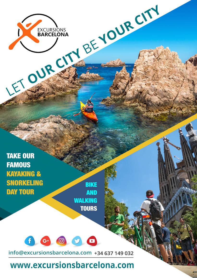 Excursions Barcelona DISEÑO GRÁFICO 2