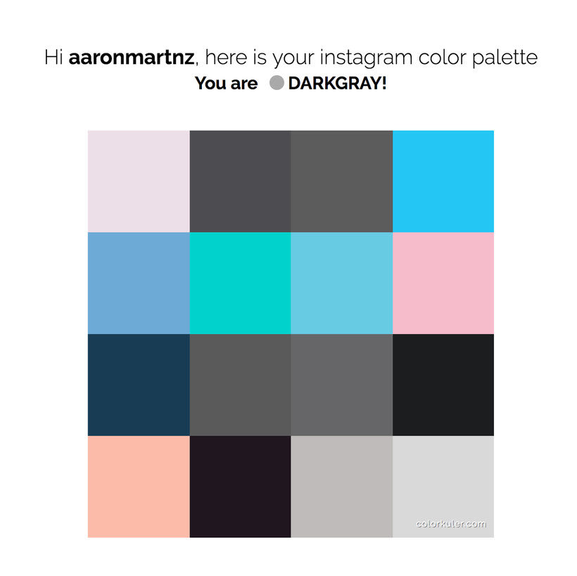 Calcula tu paleta de colores de Instagram 9