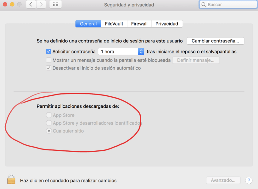 No puedo ejecutar .dmg en Mac OS Sierra 1