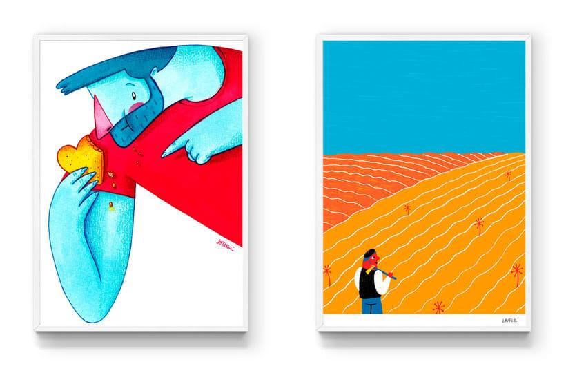 Dibujos por sonrisas: un proyecto de ilustración solidaria 17