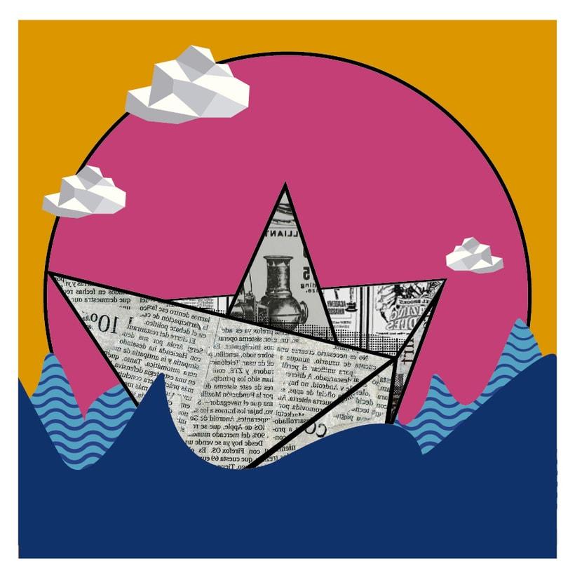 Mi Proyecto del curso: La mer en gris, una serie de tres imágenes 2