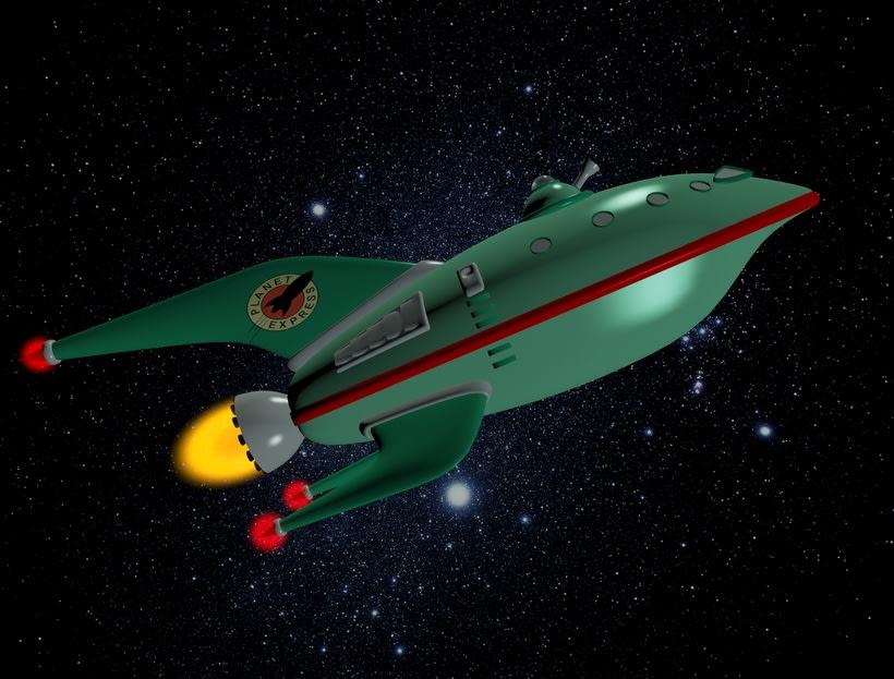 Modelado Nave Espacial 3D