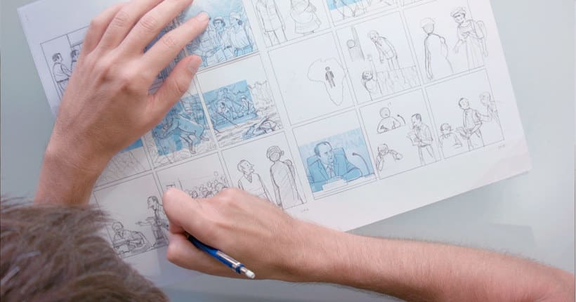 Convirtiendo las historias en cómic de la mano de Paco Roca 1