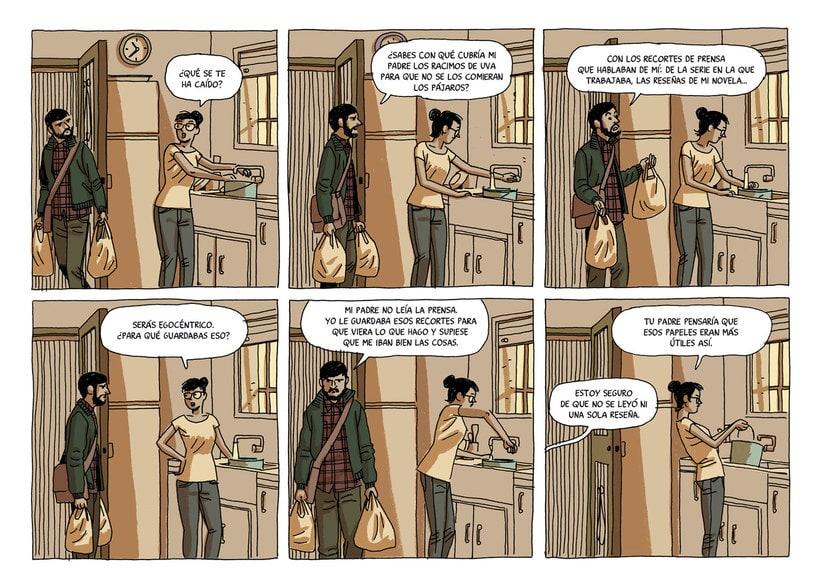 Convirtiendo las historias en cómic de la mano de Paco Roca 5