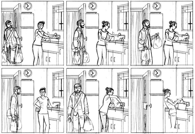 Convirtiendo las historias en cómic de la mano de Paco Roca 6