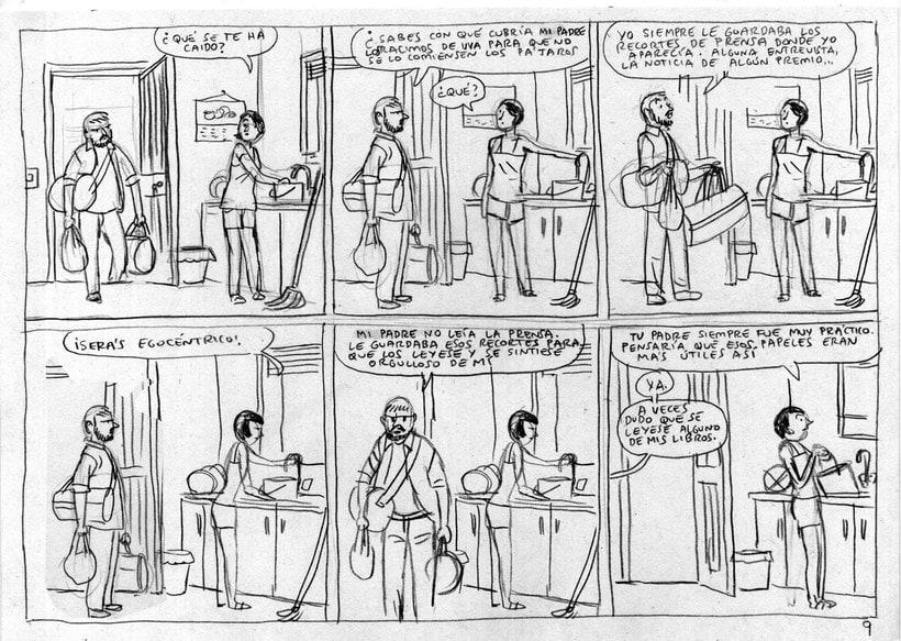 Convirtiendo las historias en cómic de la mano de Paco Roca 7