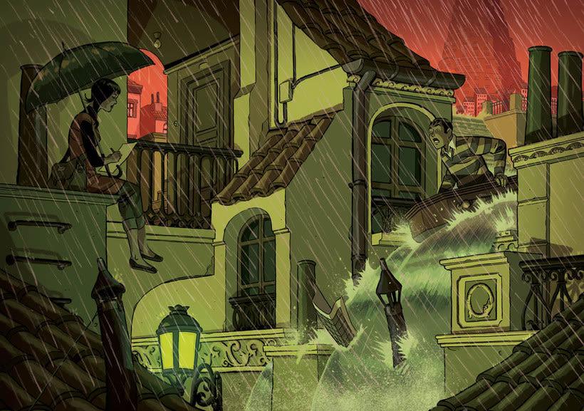 Convirtiendo las historias en cómic de la mano de Paco Roca 10