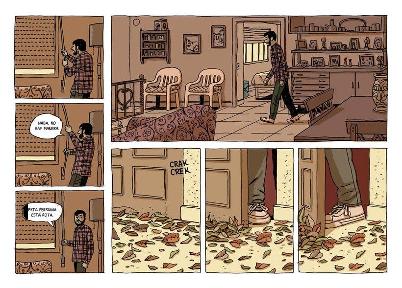 Convirtiendo las historias en cómic de la mano de Paco Roca 11