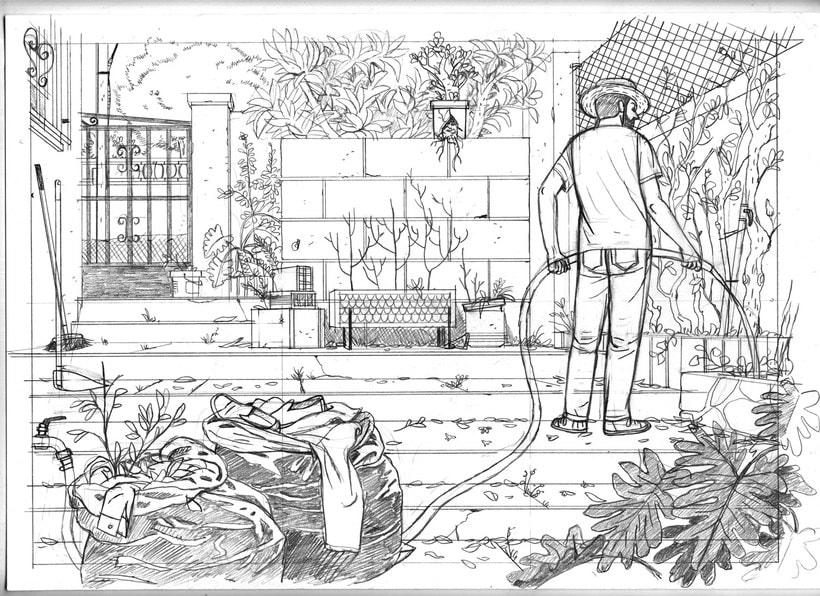 Convirtiendo las historias en cómic de la mano de Paco Roca 13