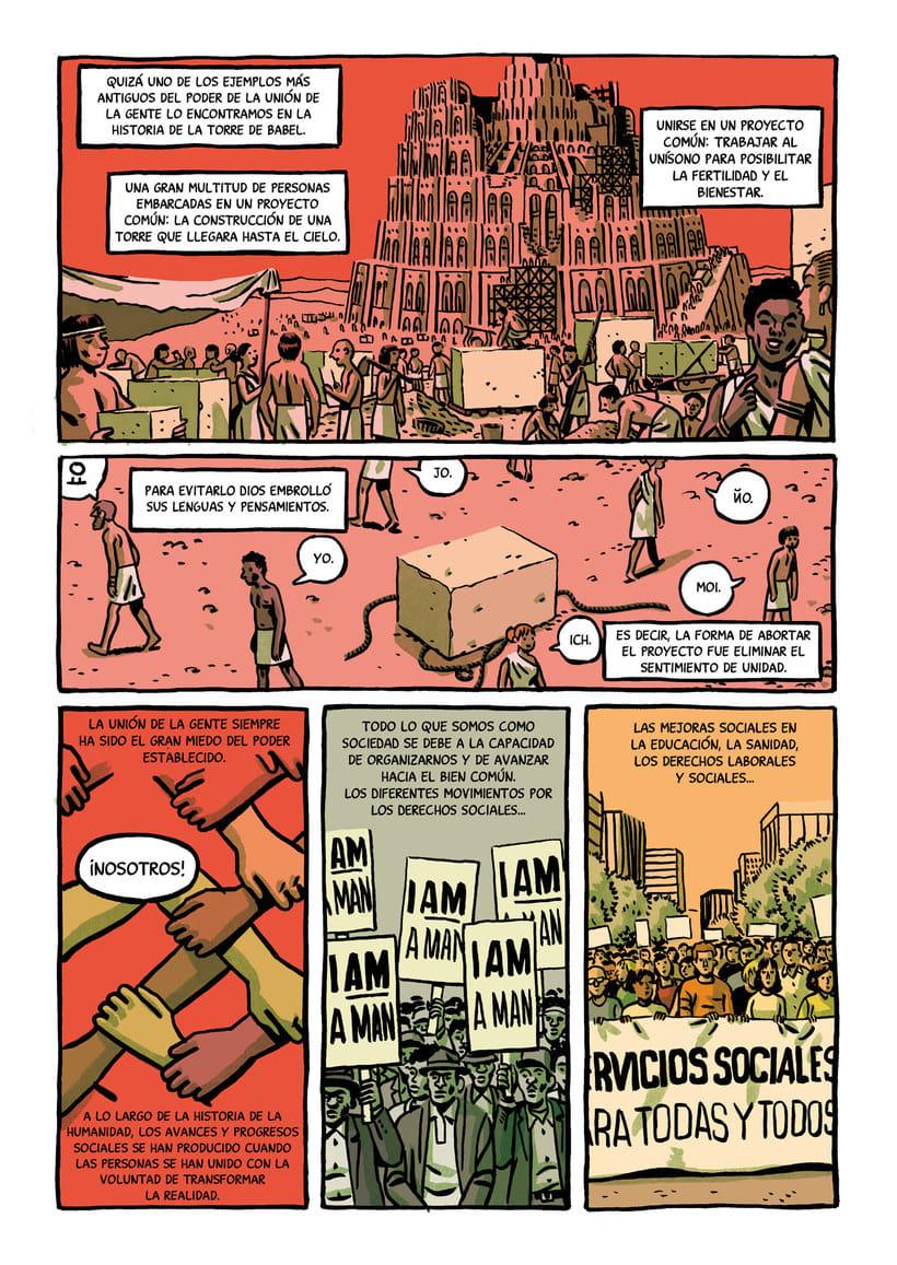Convirtiendo las historias en cómic de la mano de Paco Roca 14