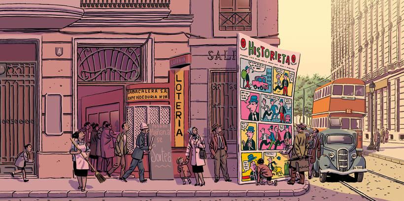 Convirtiendo las historias en cómic de la mano de Paco Roca 15