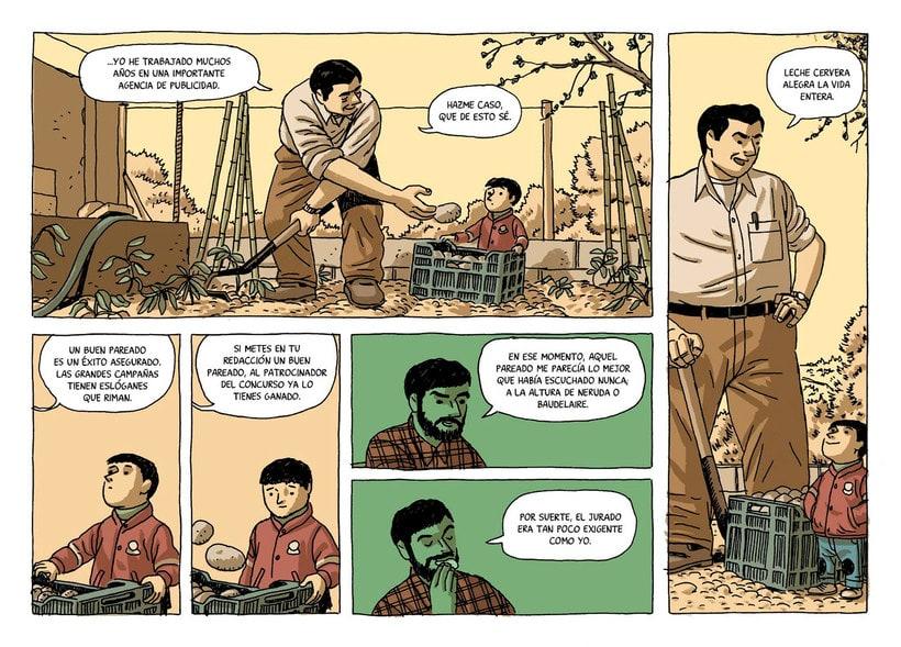 Convirtiendo las historias en cómic de la mano de Paco Roca 20