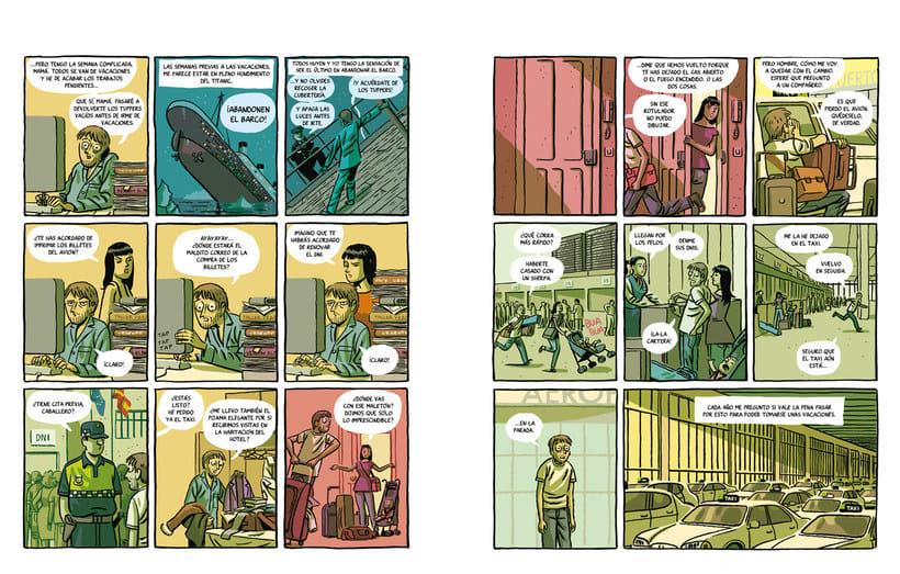 Convirtiendo las historias en cómic de la mano de Paco Roca 21