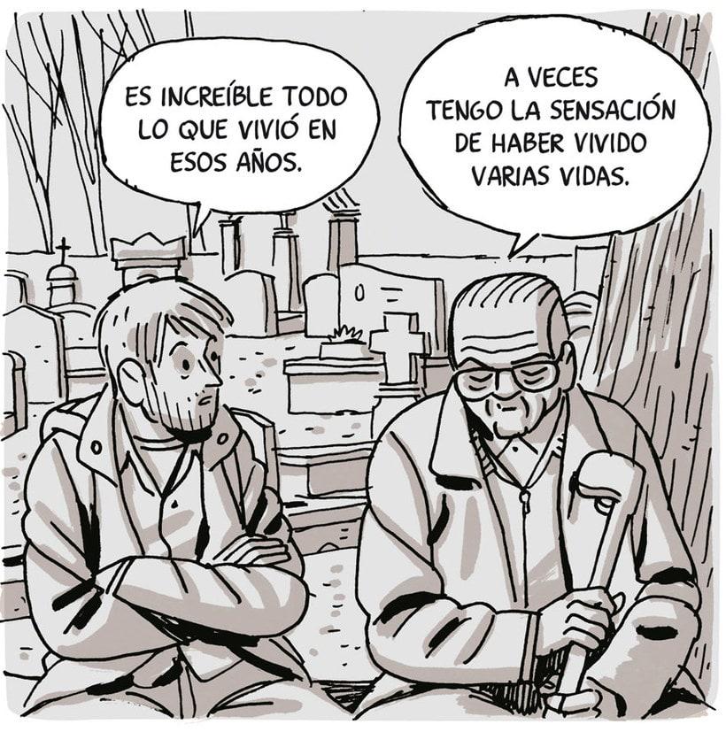 Convirtiendo las historias en cómic de la mano de Paco Roca 22