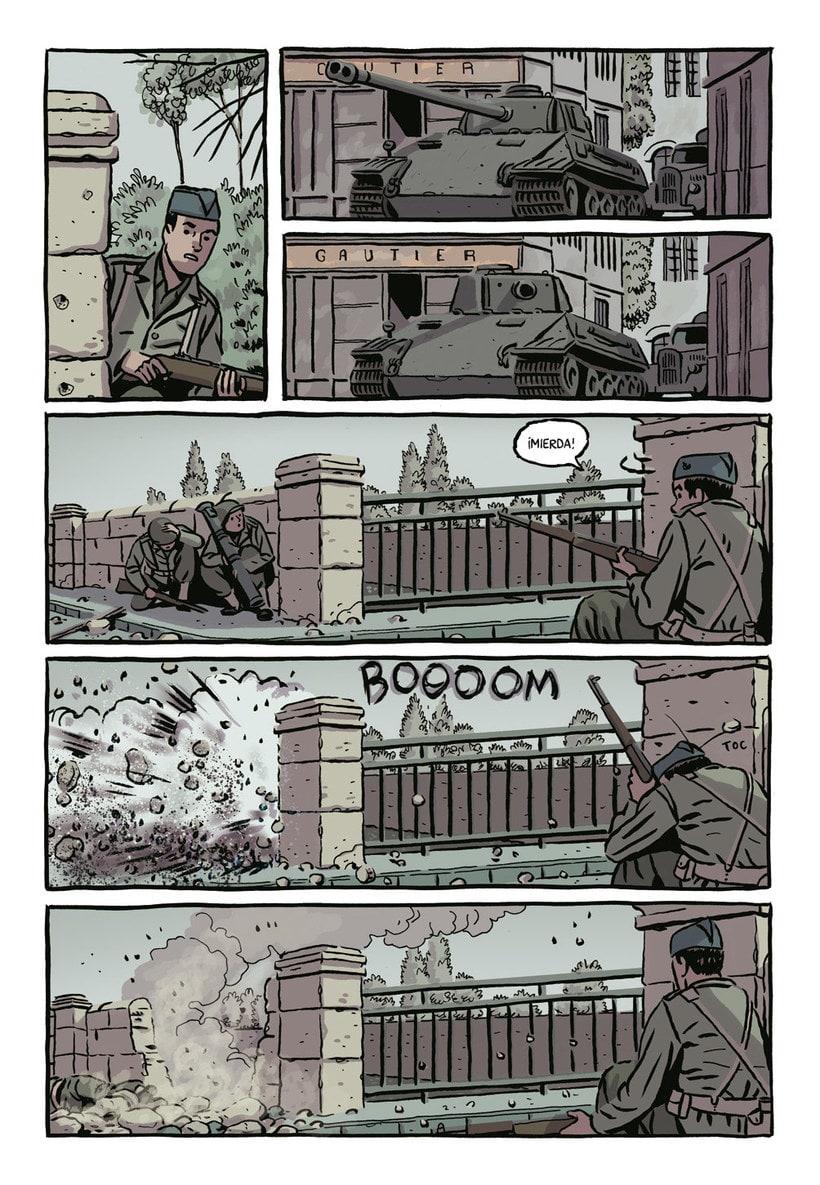 Convirtiendo las historias en cómic de la mano de Paco Roca 23