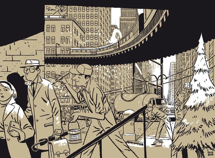 Convirtiendo las historias en cómic de la mano de Paco Roca 24