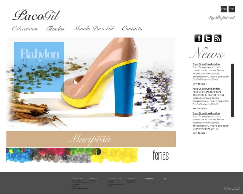 Paco Gil Shoes Website -1