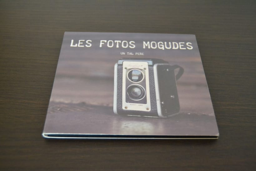 """Disseny CD """"Les fotos mogudes"""" de """"Un tal Pere"""" 3"""