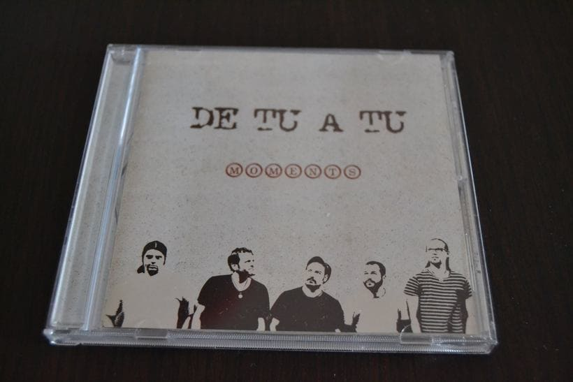 "Disseny CD ""Moments"" de ""De tu a tu"" 3"