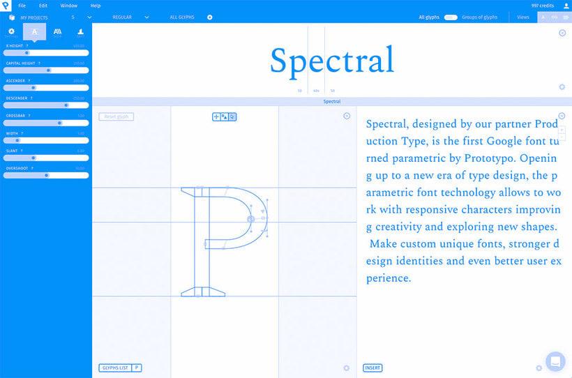 Spectral, la primera tipografía responsive de Google 5