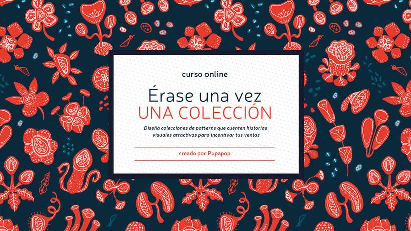 Curso Online: Diseño de Colecciones de Patterns en Illustrator 1