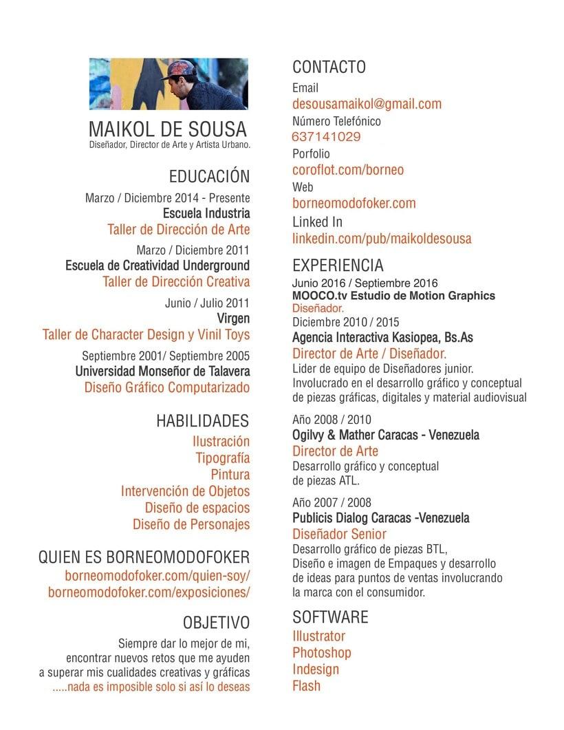 Encantador Creando Currículum En El Diseño Ideas - Ejemplos de ...