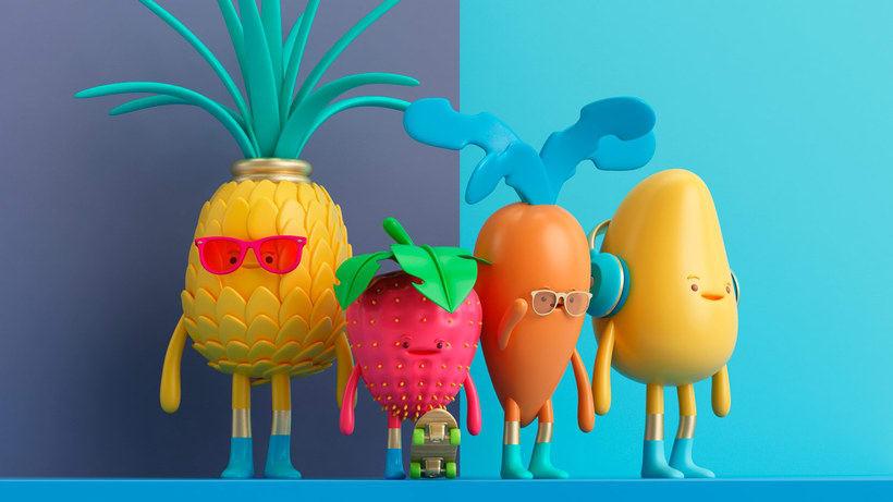 Diseñando personajes 3D con Aarón Martínez 1