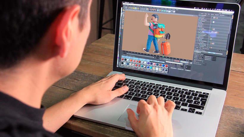 Diseñando personajes 3D con Aarón Martínez 3