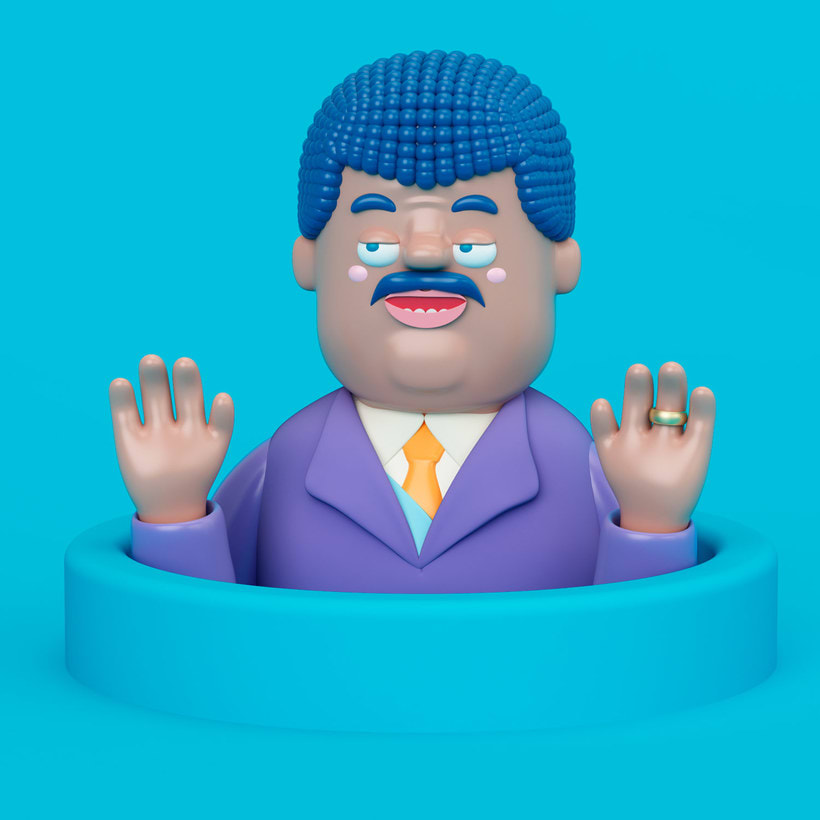 Diseñando personajes 3D con Aarón Martínez 7