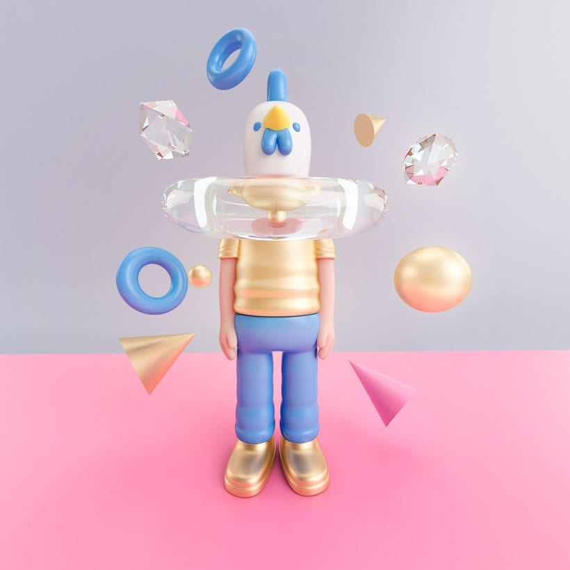 Diseñando personajes 3D con Aarón Martínez 10
