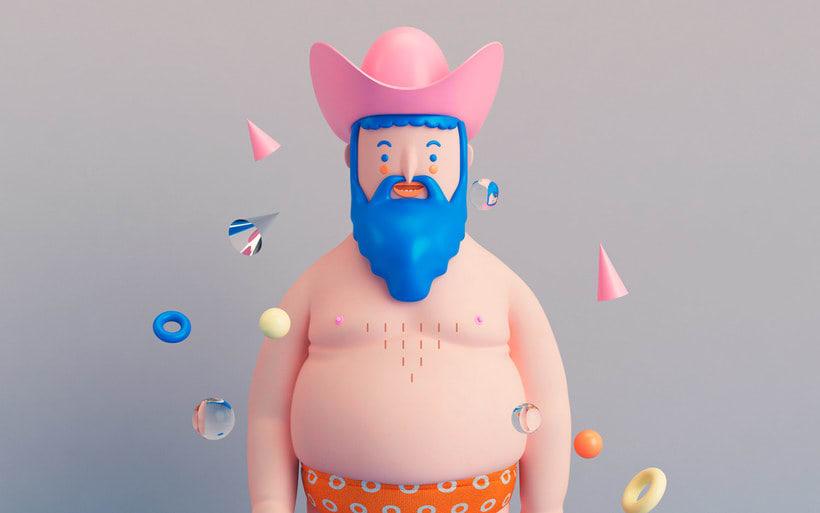 Diseñando personajes 3D con Aarón Martínez 14