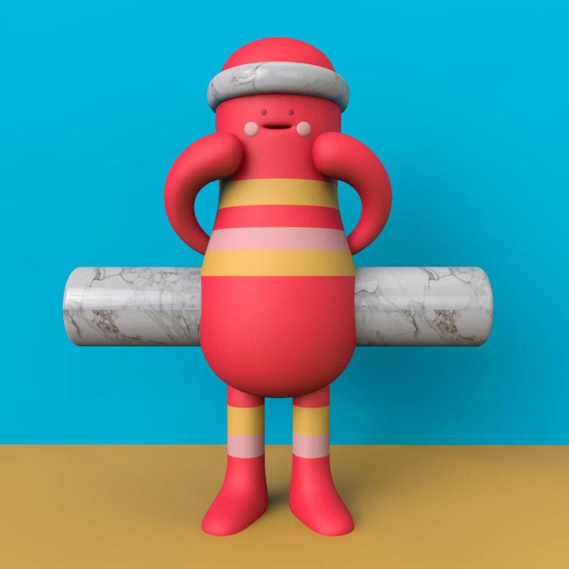 Diseñando personajes 3D con Aarón Martínez 23