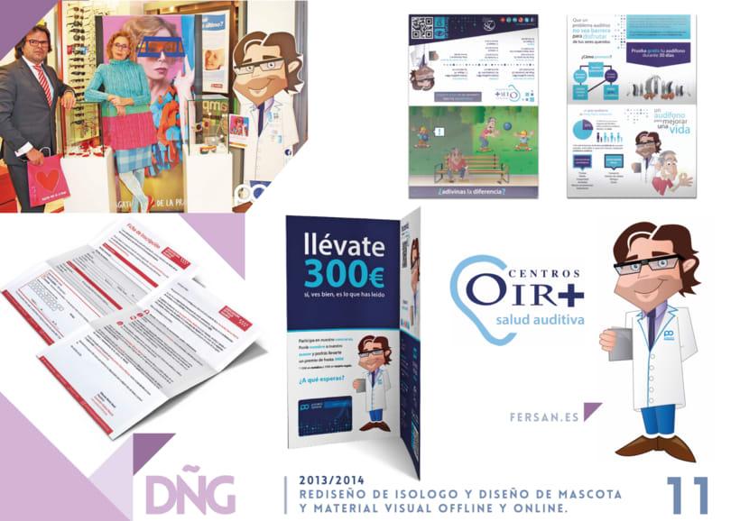 Rediseño de Isologo y Diseño de Mascota y material visual offline y online -1