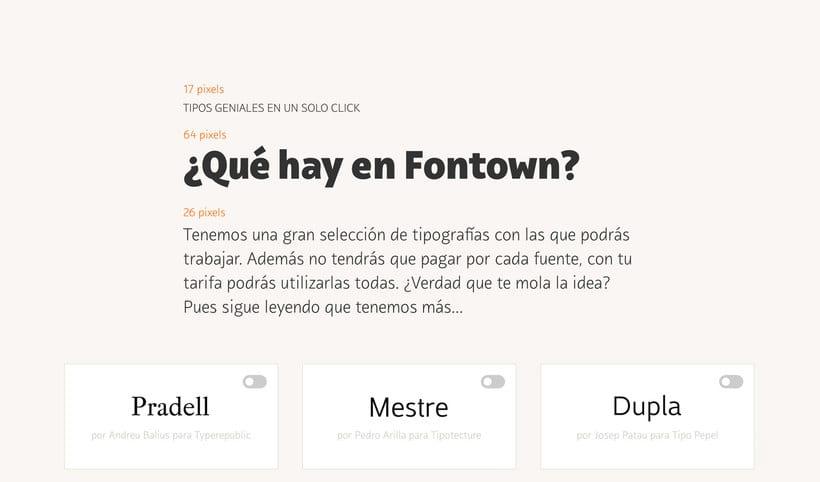 Fontown, el Netflix de las tipografías 3