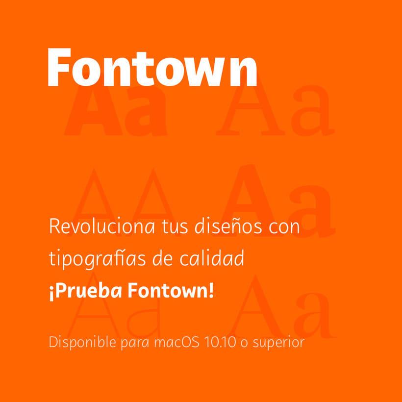 Fontown, el Netflix de las tipografías 7