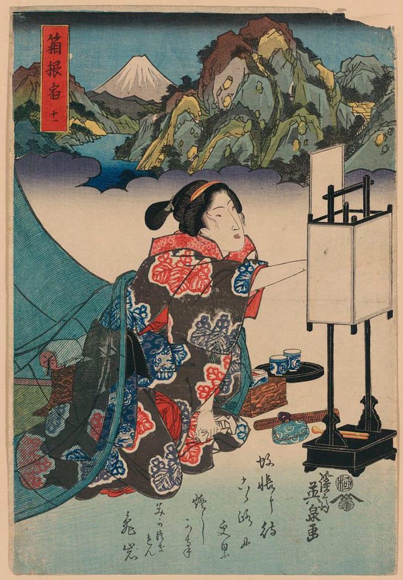 Más de 2500 grabados japoneses para descargar 11