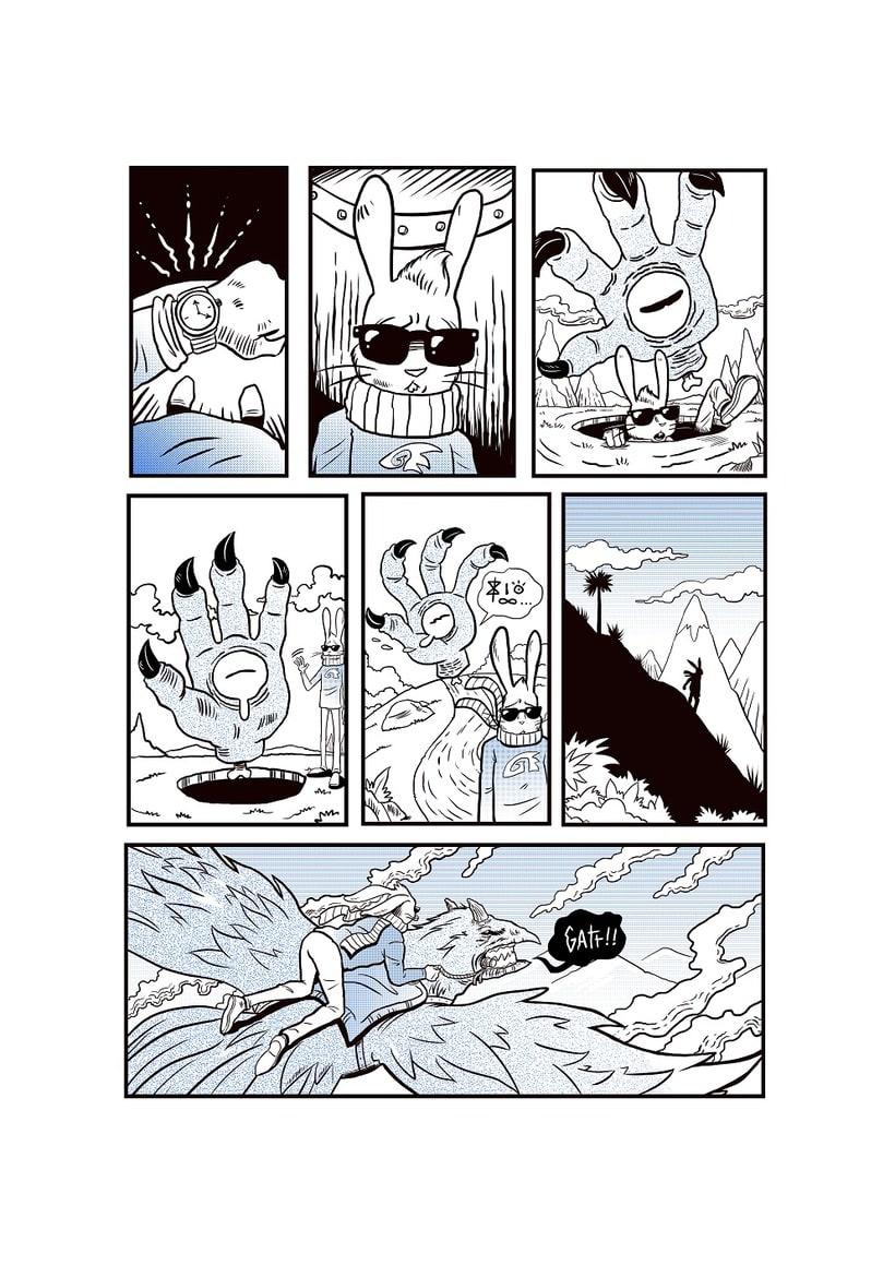 Kunic comic en Manga Studio 3